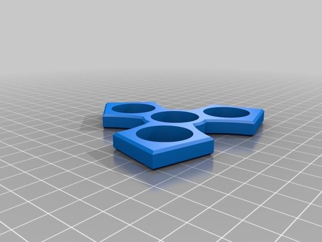 edc hand spinner fidget toy by slpfhawk thingiverse. Black Bedroom Furniture Sets. Home Design Ideas