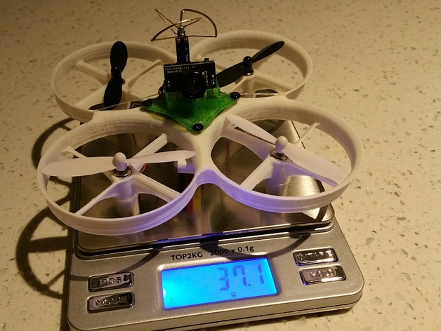 3d printed tiny whoop frame
