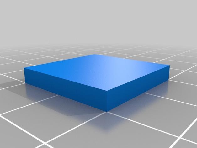 20mmx20mmx3mm-cube