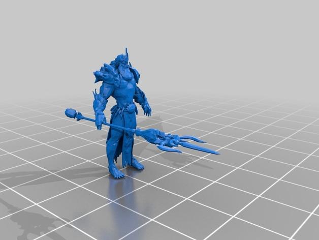 """APORTE MODELOS 3D DE EL JUEGO """"SMITE""""  - Página 2 Poseidon_preview_featured"""