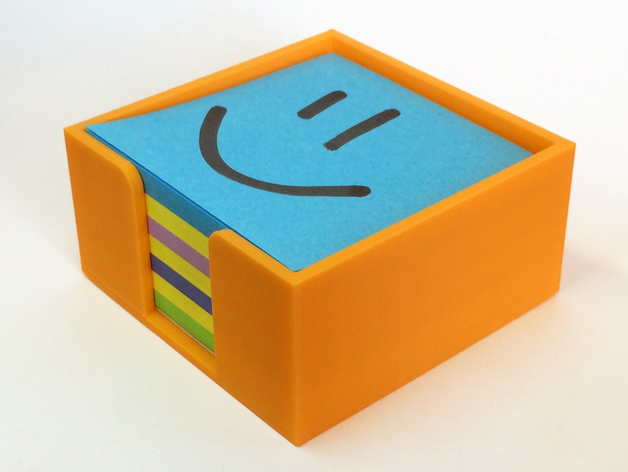 Post It Note Holder By Unknowndomain Thingiverse