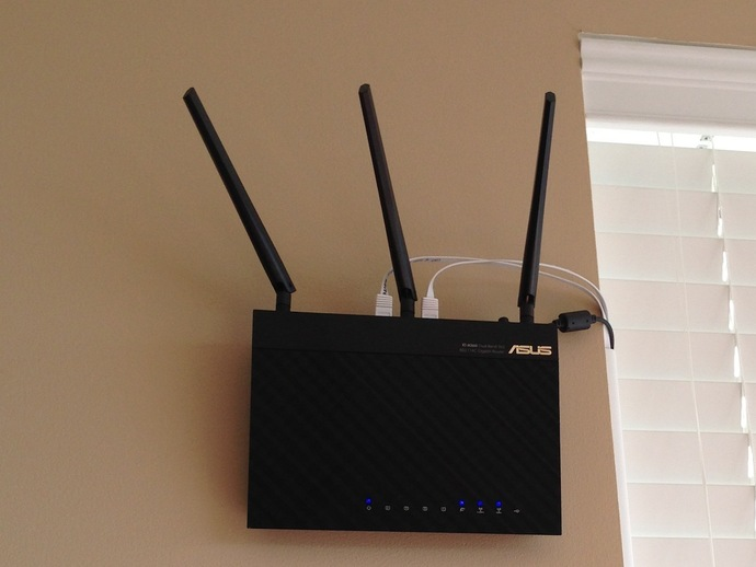 Wall Mount For Asus Rt Ac66u Wifi Router By Gpvillamil