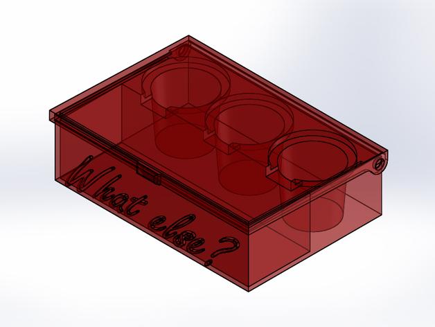 boite pour 3 capsules de caf 233 by kamikase38 thingiverse