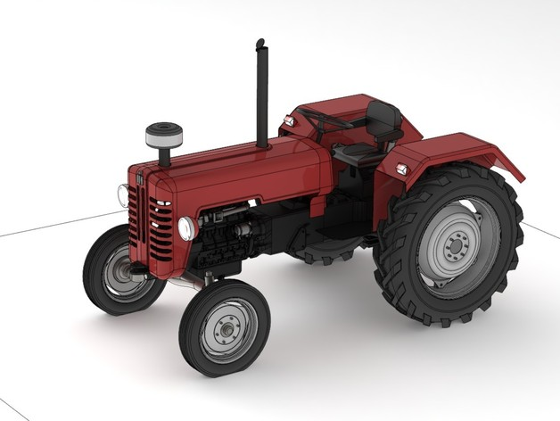 mc cormick d326 tractor by juanespj thingiverse. Black Bedroom Furniture Sets. Home Design Ideas