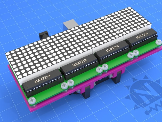 Arduino uno led matrix array by notionsunday