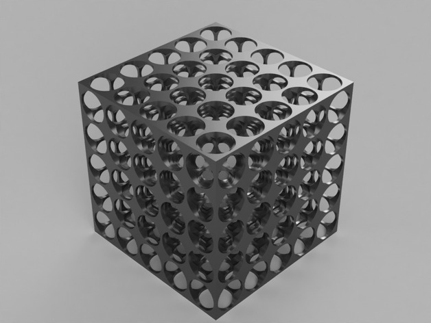 Swiss Cube by I_need_a_better_name - Thingiverse