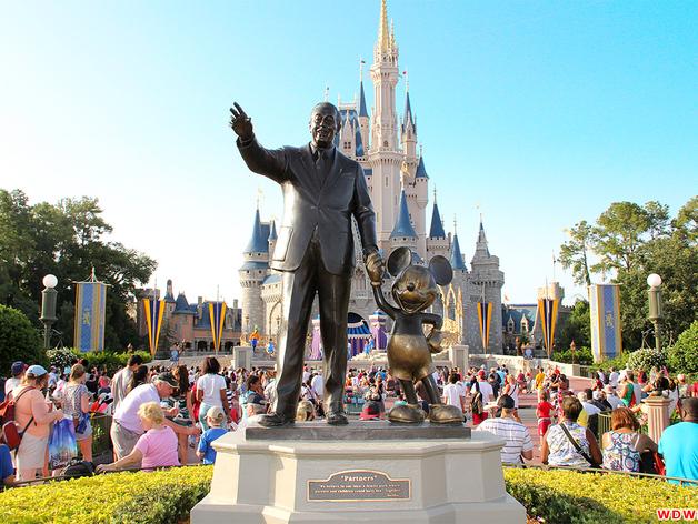 Walt Disney Quot Partners Quot Statue By Wedimagineer Thingiverse