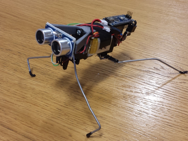Bug bot by andycart thingiverse
