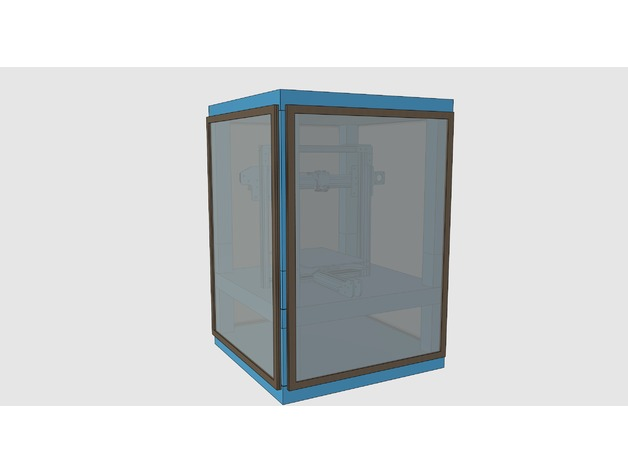 Ikea lack cabinet for 3d printer and other things or for 3d printing kitchen cabinets