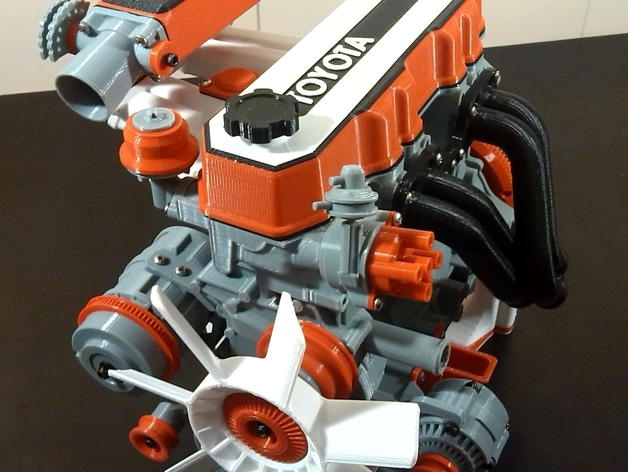 Toyota 22re Engine Expansion Pack By Mindless