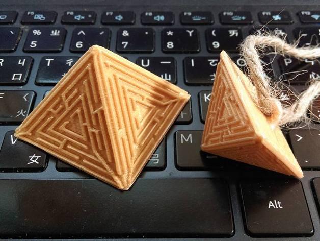 maze pyramid