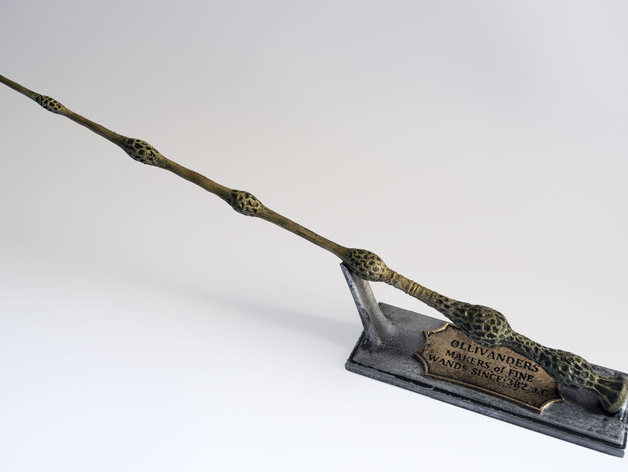 Elder wand stand by fotoianmontes thingiverse for Elder wand made of