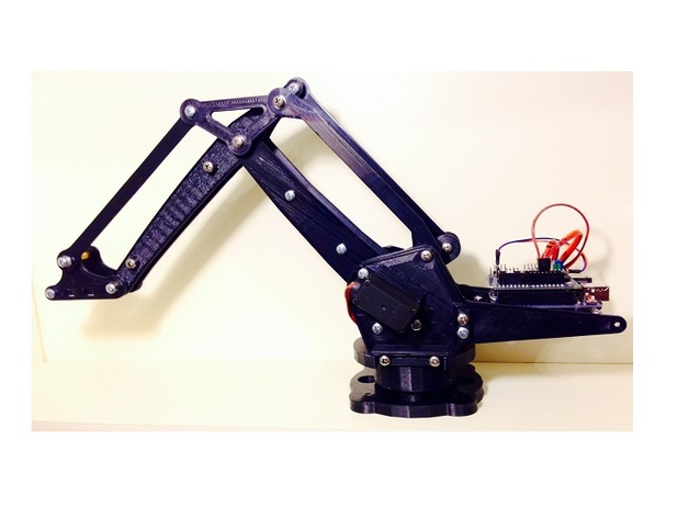Lite arm open source robotic i by armatec thingiverse