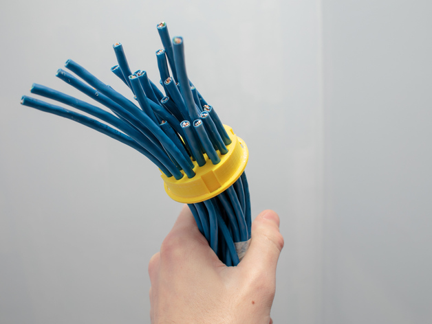 Ethernet Cable Grommet By Greeeg Thingiverse