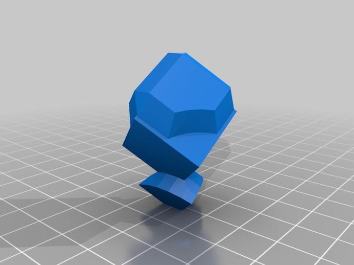 Куб для інтерєру, 15237, 3ds, антохин, предмети інтерєру, різні предмети інтерєру, 3dlancernet