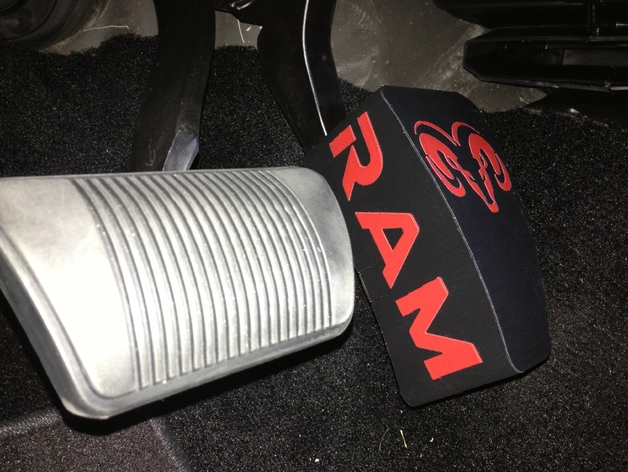 ram  gas pedal extension  identifier thingiverse