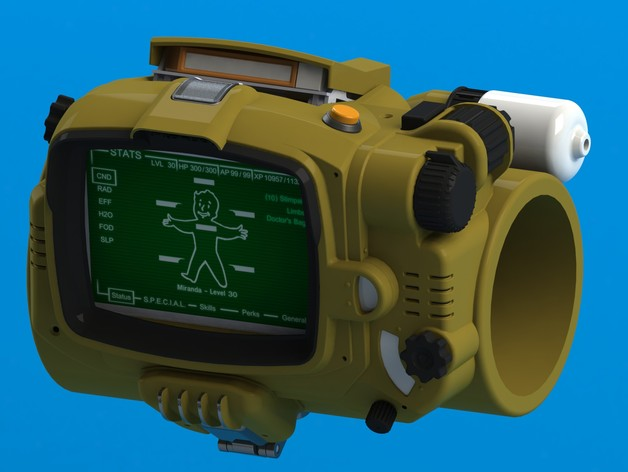 Fallout 4 - Pip boy 3000 Mk IV by lilykill - Thingiverse