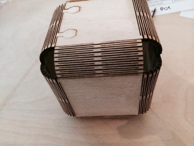 Living Hinge Boxes Two Boxes By Machinesroom Thingiverse