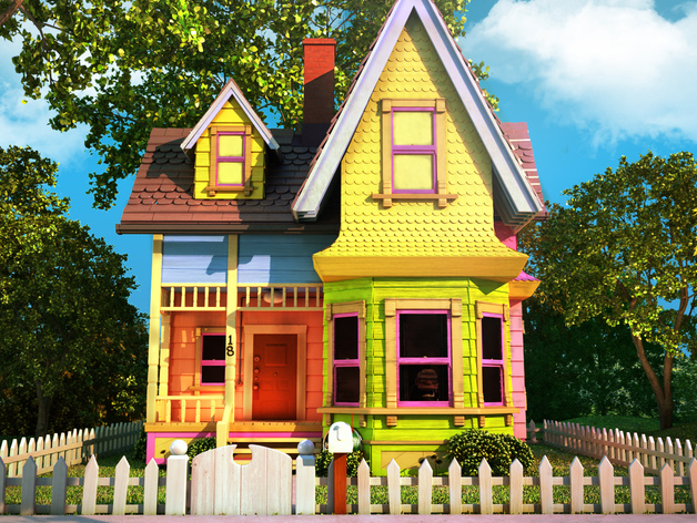 Carl's House (From Pixar's Up) Balloon Weight by ...