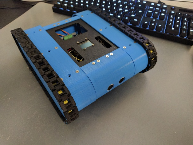 Arduino robot tank by velli thingiverse
