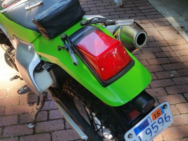 Kawasaki Klr Dashboard Dxf