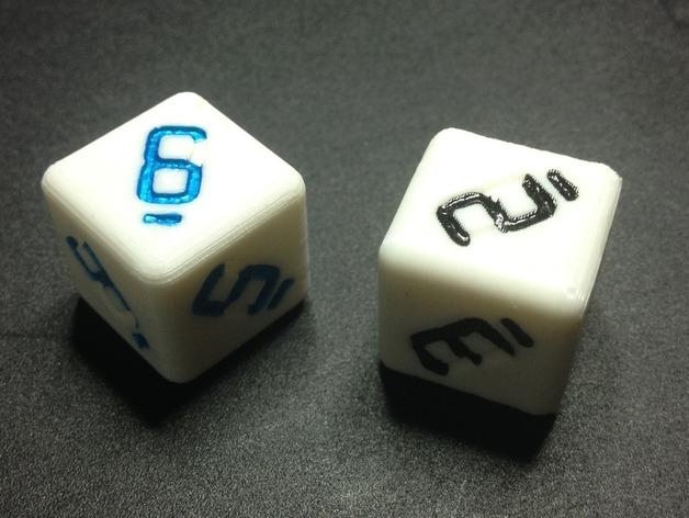12 diced die thinkverse