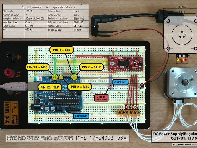Arduino Motors, Arduino Servos, Arduino Actuators