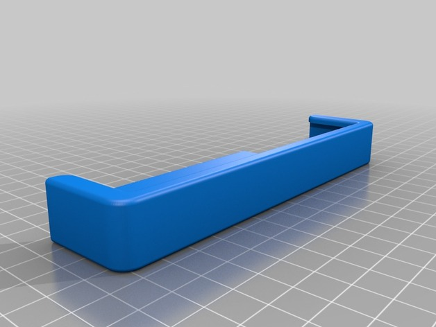 support pour voiture simple pour smartphone by ecologeek thingiverse. Black Bedroom Furniture Sets. Home Design Ideas