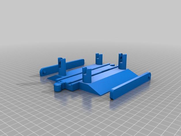 toy wood train track spielzeug holzeisenbahn schienen uebergang mit schranke brio thomas. Black Bedroom Furniture Sets. Home Design Ideas