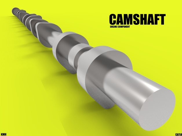 camshaft arbre came by kasraoui thingiverse. Black Bedroom Furniture Sets. Home Design Ideas