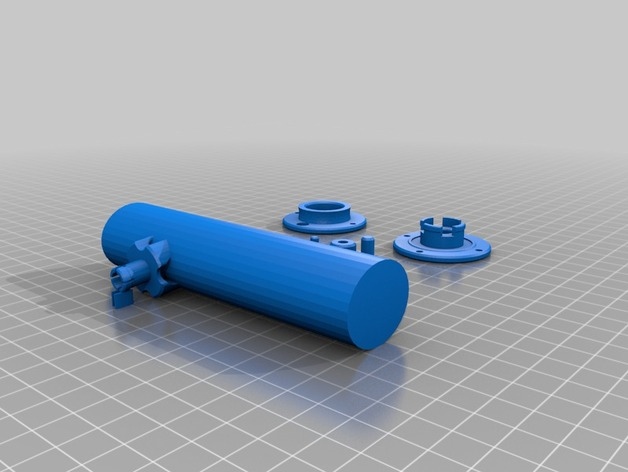 Cool fishing rod by saggytaggy thingiverse for Cool fishing poles