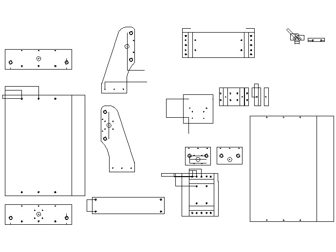 cnc machine blueprints