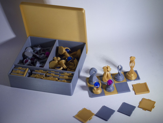 Chess Set Box By 1spire Thingiverse