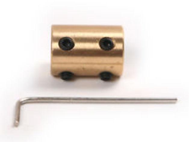 Brass Solid Shaft Motor Coupling