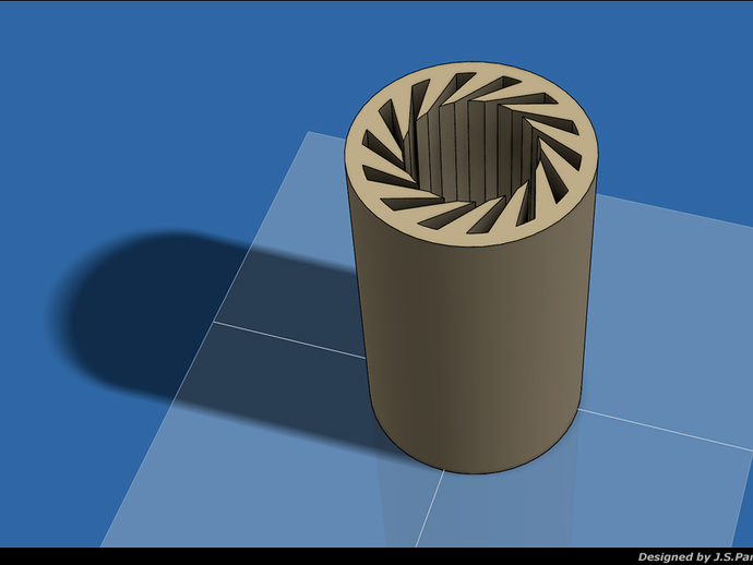 Pla Printed Lm8uu Bearing Noise Test By Jspark Thingiverse