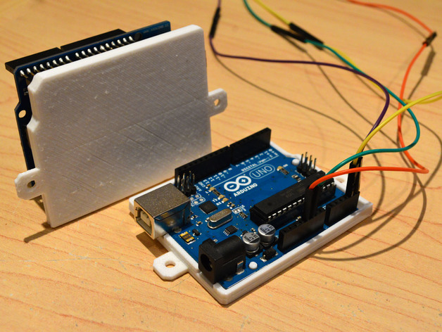 Arduino uno full bottom coverplate with mounting screws by