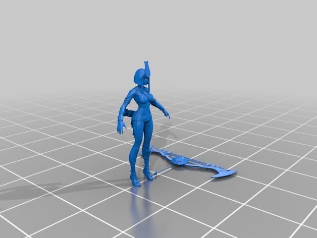 """APORTE MODELOS 3D DE EL JUEGO """"SMITE""""  - Página 2 Neith_preview_featured"""