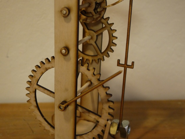 Galileo S Pendulum Clock By Zombiecat Thingiverse