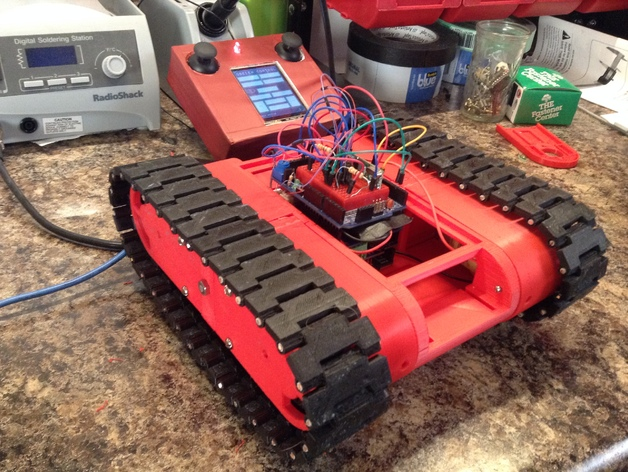 Track Bot - Dave's Cut by DaveGun - Thingiverse