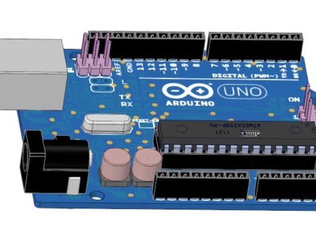 Arduino uno r created by designspark mechanical dscnrs