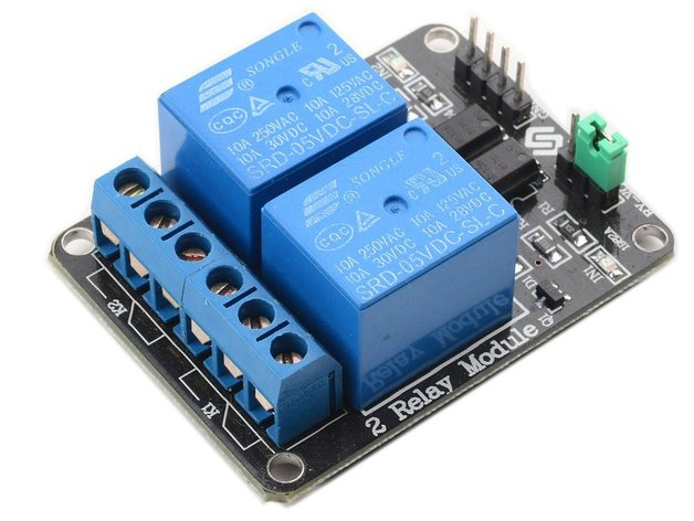 Arduino dual v relay board by jimustanguitar thingiverse
