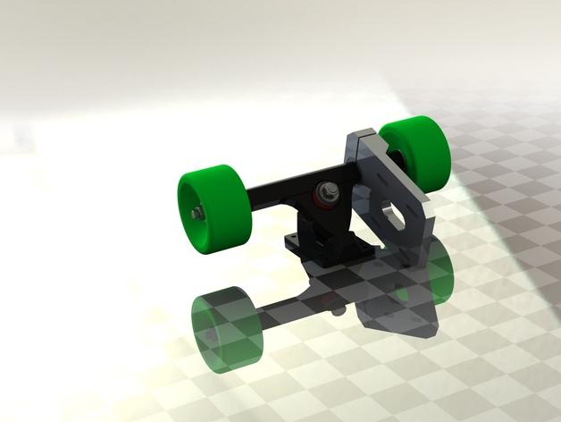 Electric Skateboard Caliber Truck Motor Mount By