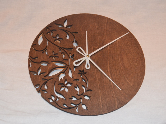 Hands for Laser cut clock (for thing 522752) by Wpilgrim ...