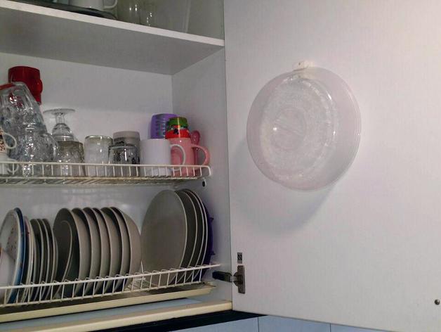 Holder for microwave dishes cover soporte cubreplatos de - Soportes para microondas ...