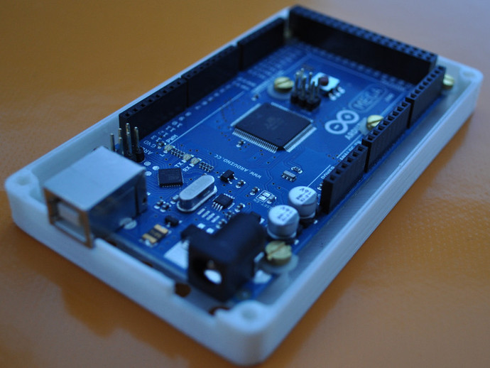 Arduino mega r case by icare thingiverse