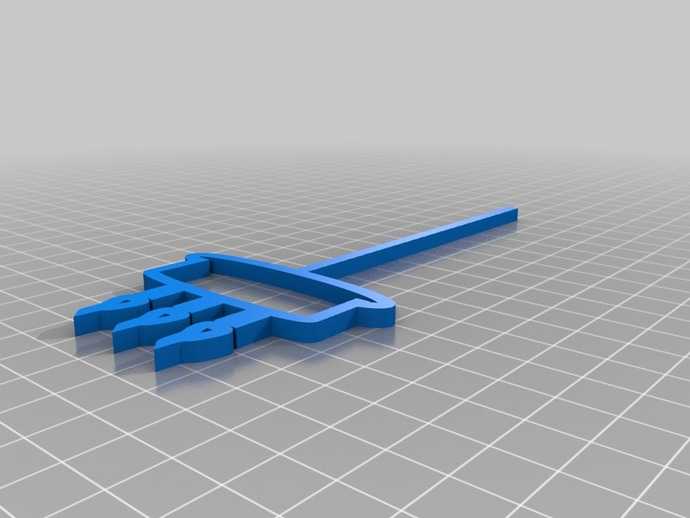 Birthday cake wand by andrewstaroscik thingiverse for Birthday wand