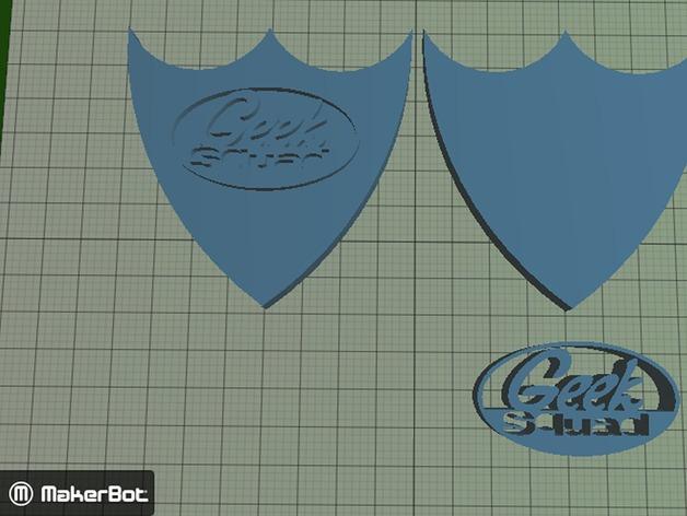 Geek Squad Badge Geek Squad Badge by Bthomasian