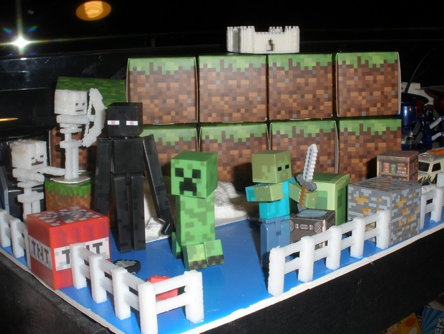 Minecraft Images Toys Minecraft Skeleton Toy by