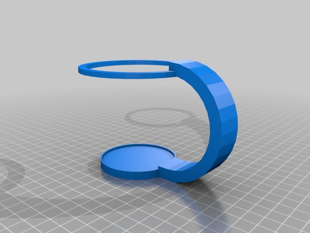 8oz Cup Holder - shallow base - http://www.thingiverse.com/thing:598042