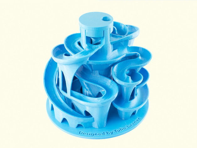 Blue Glass Rolling Pin